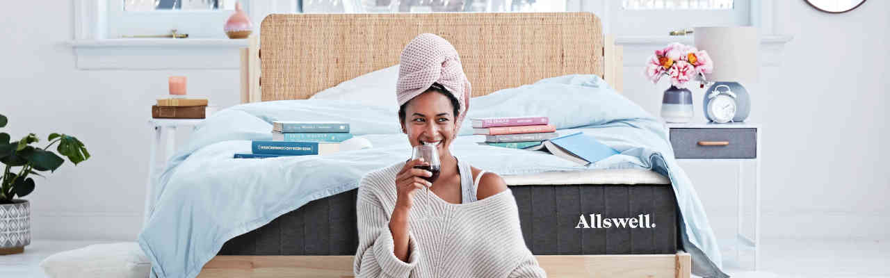 Mattress in a box walmart Bag Allswell Recently Was Added To The Walmartcom Offering Online They Have Great Mattress In Box Option With Two Firmnesses And Charge Reasonable Price Slumber Search Walmart Mattress Reviews What 2019 Beds To Buy Scams To Avoid