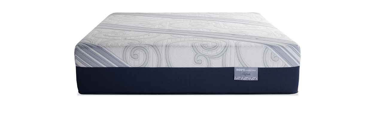 Bob S Provides One Latex Mattress The Refresh Which Has Both Gel Infused And Talalay Layers These Provide A Gentle Bounce