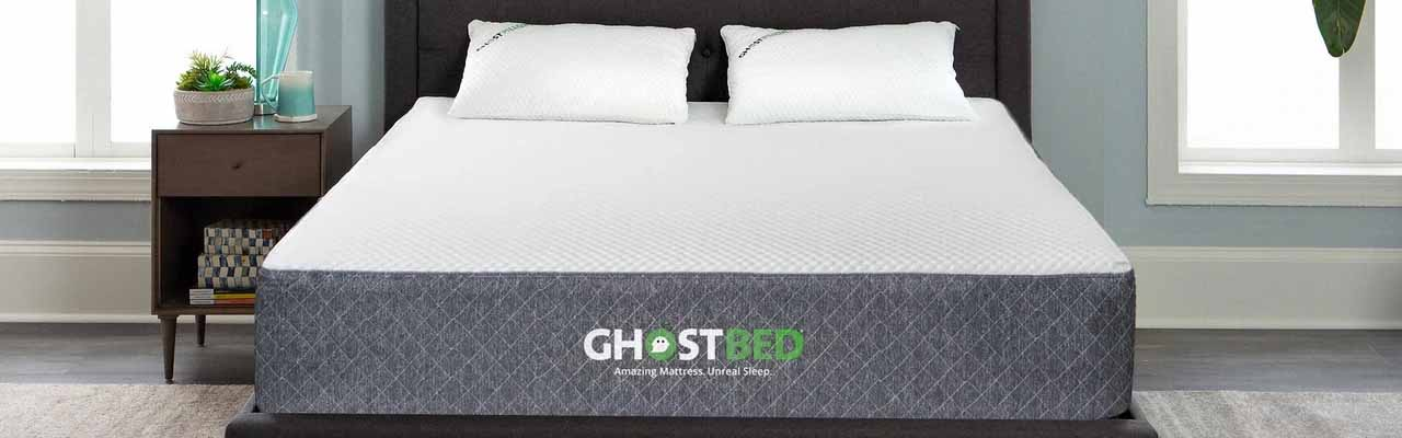 set up and foam ghost memory queen i sent your the review video in ghostbed am unboxing maven to mattress bed door minutes boxed right