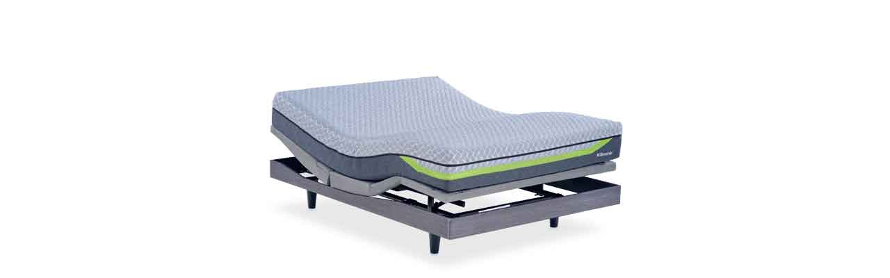 The Dream Supreme Ii Comes With Both A Reverie Foam Hybrid Mattress And Also 9t Adjule Base That Adjusts Itself Automatically Via Remote