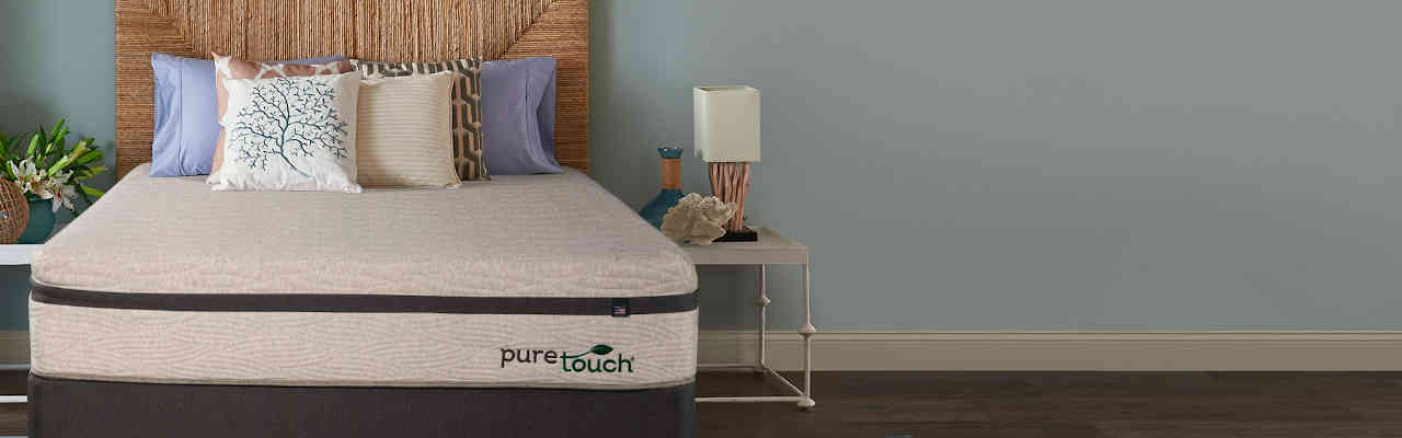 The Theic Puretouch Mattress Is A Latex Which Firmer And More Responsive Than Memory Foam But Also Doesn T Have Same Issues With