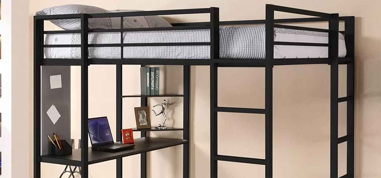 Picture of: Best Loft Beds With Desk Revealed 2020 Reviews