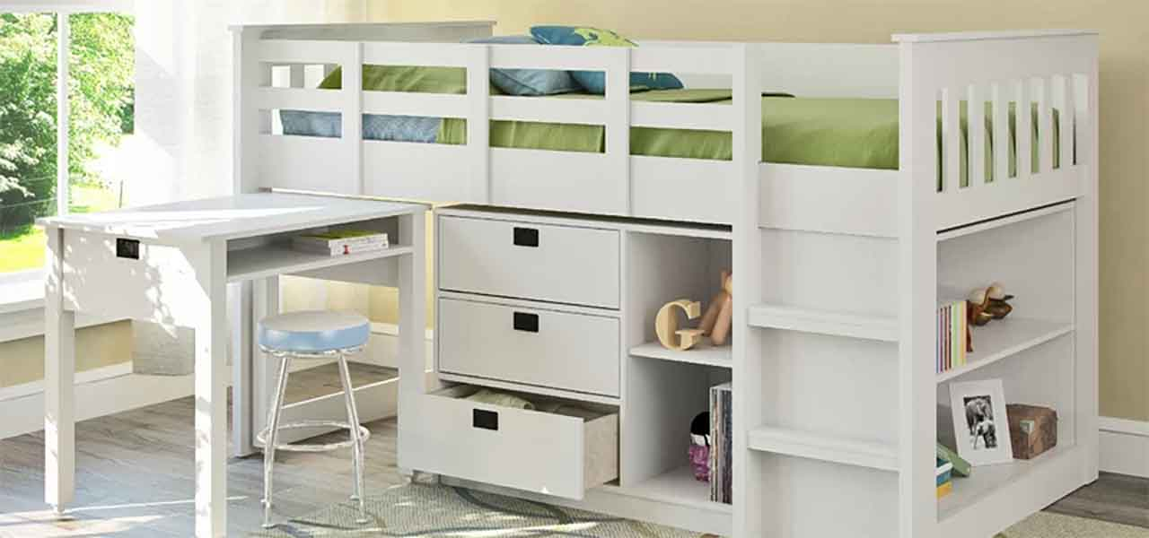Picture of: Best Low Loft Beds Ranked 2020 Reviews